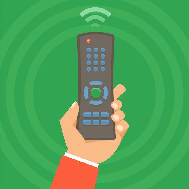 Concept de télécommande de vecteur