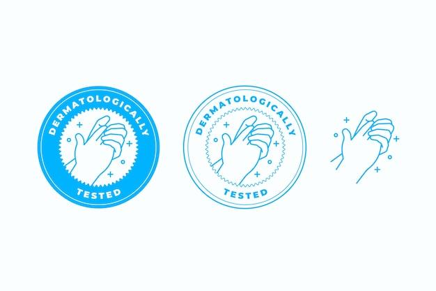 Concept testé dermatologiquement