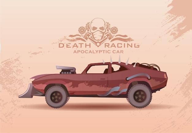 Concept sur le thème des voitures du futur