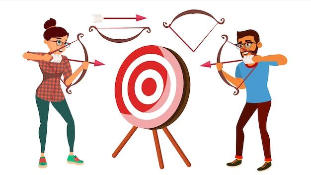 Concept de tir à l'arc