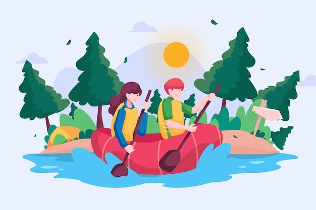 Concept de tourisme écologique
