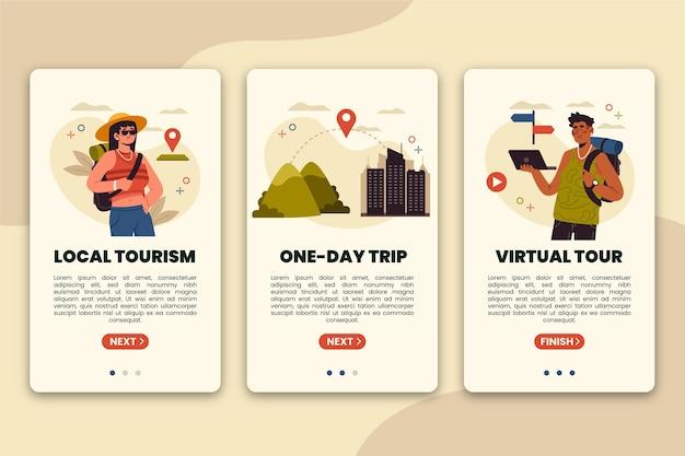 Concept de tourisme local