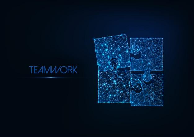 Concept de travail d'équipe