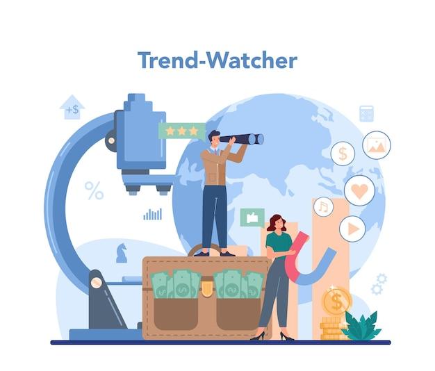 Concept de trendwatcher