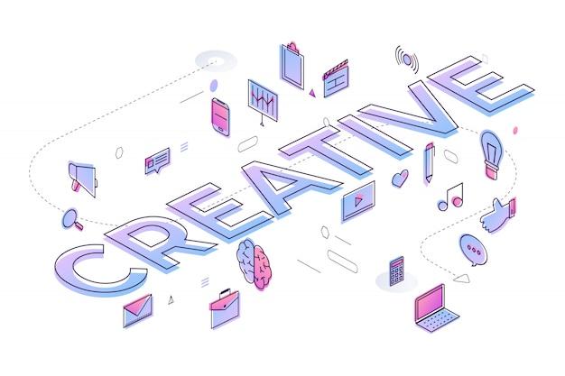 Concept de typographie