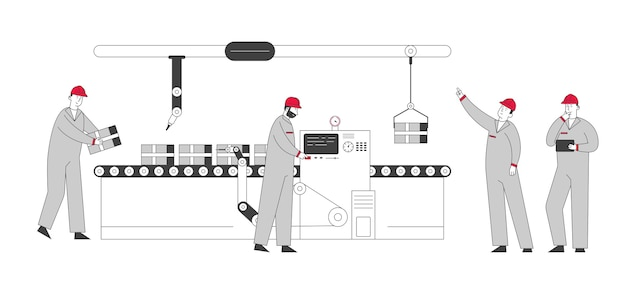 Concept d'usine intelligente