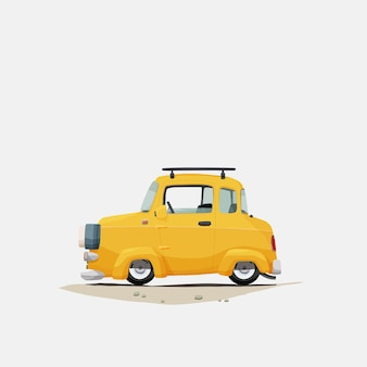 Concept de véhicule à main levée
