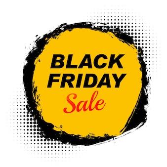 Concept de vente vendredi noir moderne