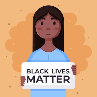 Le concept de la vie noire compte