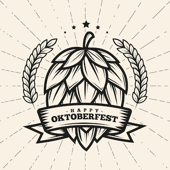 Concept vintage oktoberfest
