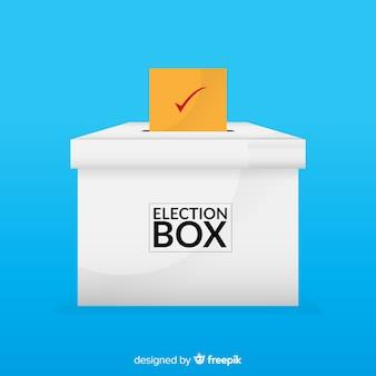 Concept de vote et d'élection