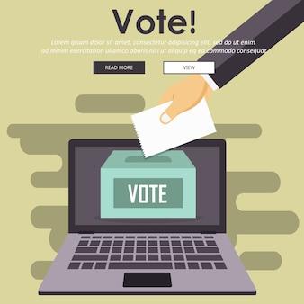 Concept de vote