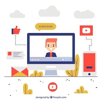 Concept youtube