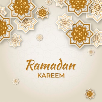 Conception 3d du concept de ramadan kareem