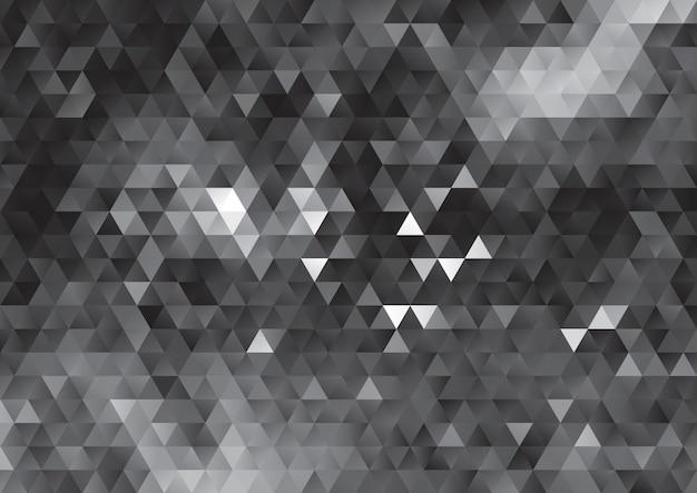 Conception abstraite de basse poly