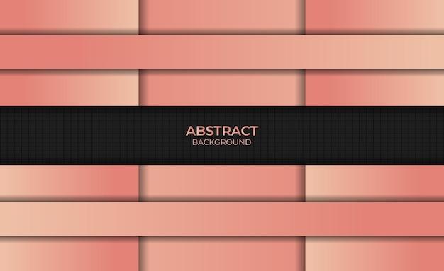 Conception abstraite dégradé fond style couleur orange