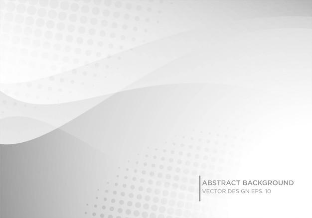 Conception abstraite de fond blanc avec forme moderne concpet
