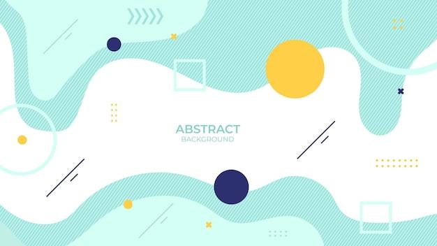 Conception abstraite de fond couleur douce avec objet géométrique, conception décorative douce dans un style abstrait