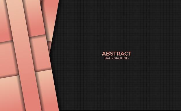 Conception abstraite style fond dégradé couleur orange