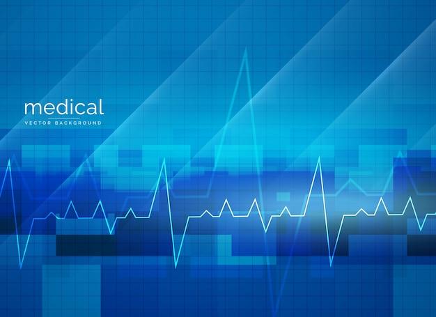Conception d'affiche de vecteur médical médical abstrait