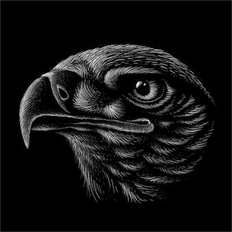 Conception d'aigle.