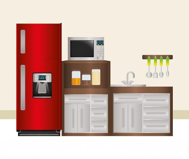 Conception d'appareils ménagers.