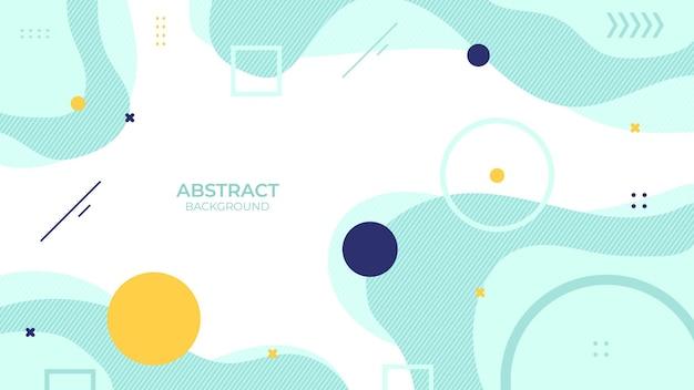 Conception d'arrière-plan abstraite couleur douce avec objet géométrique, conception décorative douce dans un style abstrait