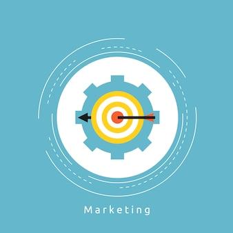 La conception d'arrière-plan de marketing