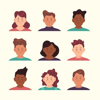 Conception d'avatar pour les jeunes