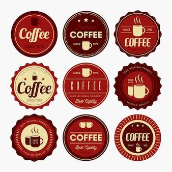 Conception de badge à café
