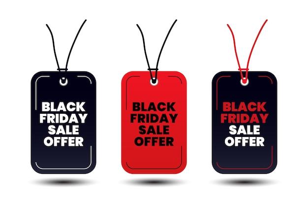 Conception de balises shopping vendredi noir