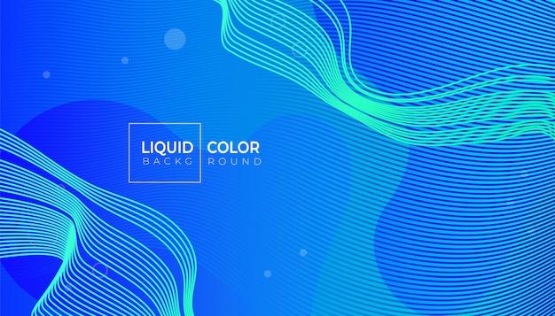 Conception de bannière graphique moderne abstrait coloré pour mobile
