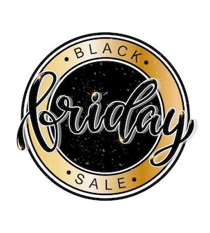 Conception de bannière de vente black friday