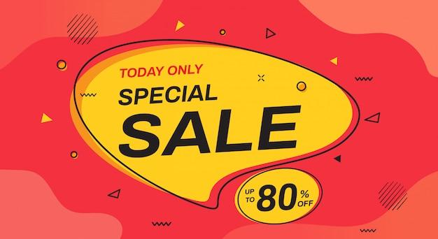 Conception de bannière de vente spéciale. modèles de bannière de vente.