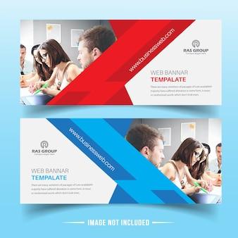 Conception de bannière web business