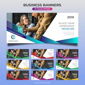 Conception de bannière web d'entreprise 28