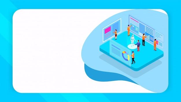 Conception basée sur le concept de co-working virtuel.