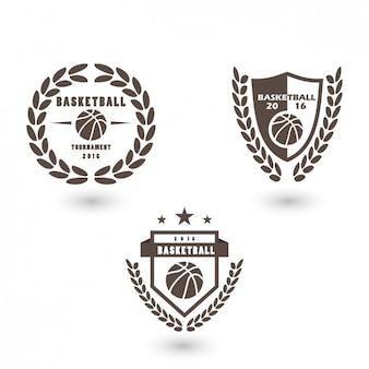 Conception de basket-ball logo de modèle
