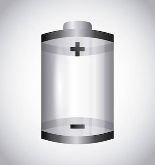 Conception De La Batterie Vecteur Premium