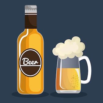 Conception de bière allemande