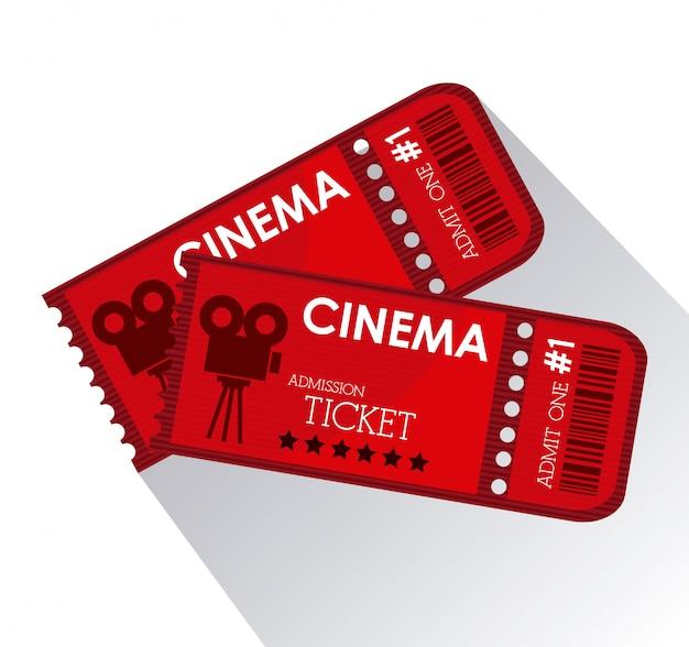 Conception de billets de cinéma