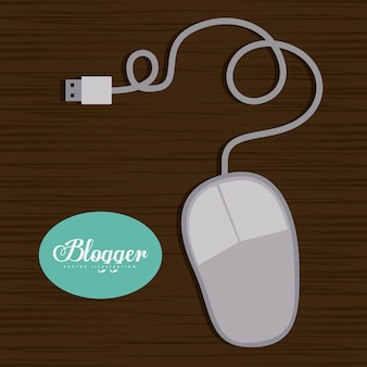 Conception de blogger