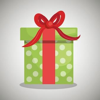 Conception de boîte cadeau