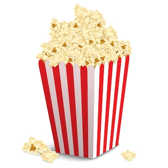 Conception de boîte de pop-corn