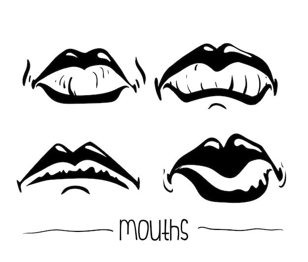 Conception de la bouche