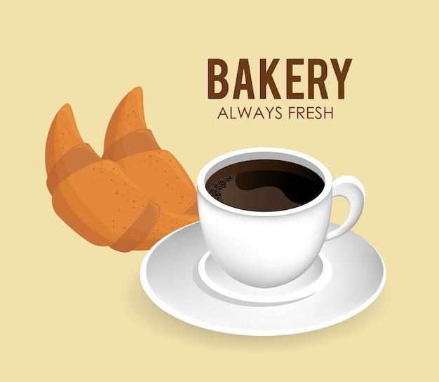 Conception de la boulangerie.