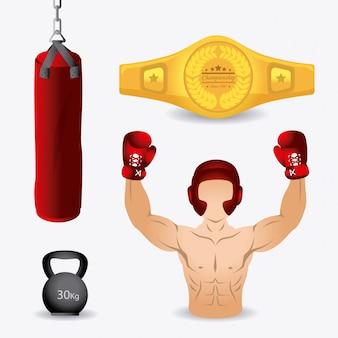 Conception de la boxe.