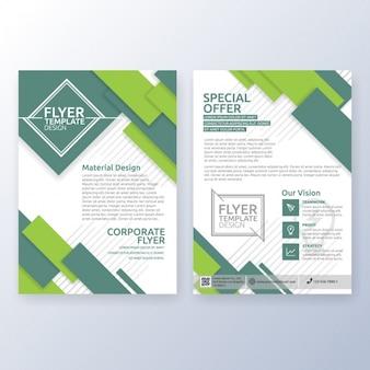 Conception de la brochure d'affaires