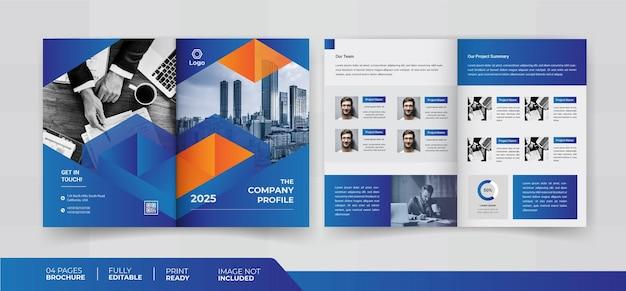 Conception de brochures de 04 pages