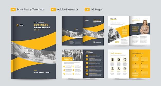 Conception de brochures d'entreprise ou conception de rapports annuels et de profils d'entreprise ou conception de brochures et de catalogues